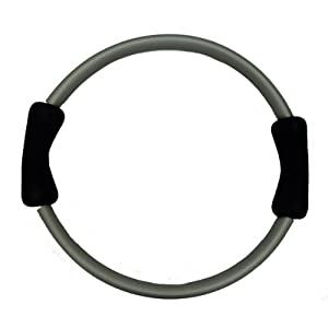 Yoga Direct Pilates Toning Ring With Black Cushioned Grips