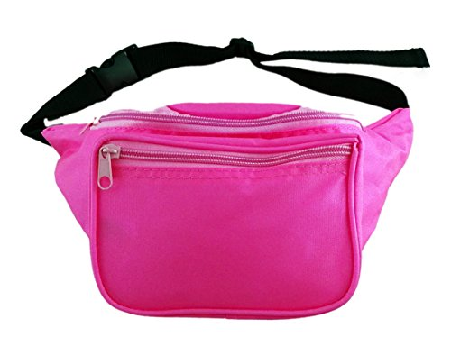 [Funny Guy Mugs Plain Fanny Pack, Neon Pink] (Funny Easy Guy Halloween Costumes)