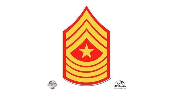 Army Command Sergeant Major Rank GT Graphics U.S Vinyl Sticker Waterproof Decal
