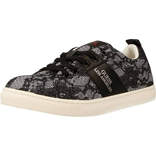 GUESS Zapatillas Para NIÏ¿½a, Color Negro, Marca, Modelo Zapatillas Para NIÏ FISAL3 ELE12 Negro Negro