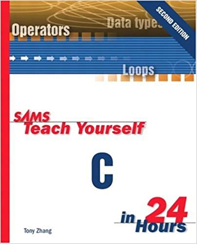 Amazon sams teach yourself c in 24 hours 2nd edition sams teach yourself c in 24 hours 2nd edition 2nd edition fandeluxe Image collections