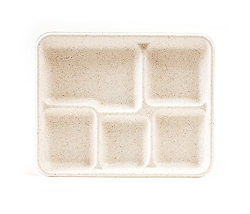 5 compartment tray - 5