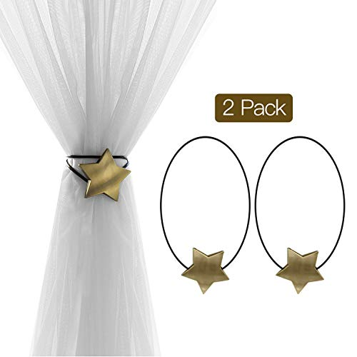 How to buy the best curtain tiebacks magnetic star?