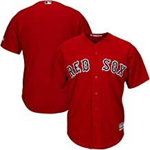 Boston Red Sox MLB Mens Majestic Cool Base Replica Jersey Red Big & Tall Sizes