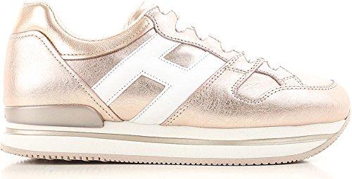 Hogan Damen HXW2220T548I8G089A Rosa Leder Sneakers