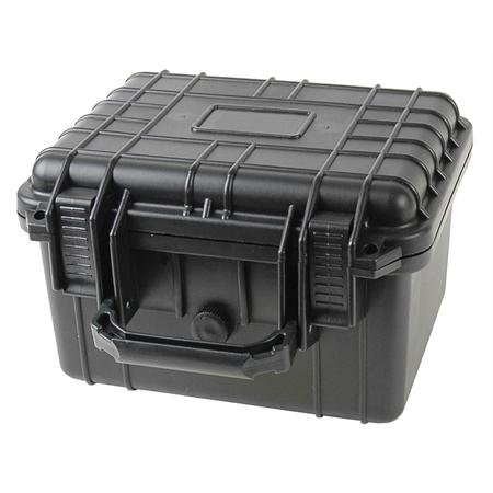10inch Black Tactical Weatherproof Equipment Case – Deep