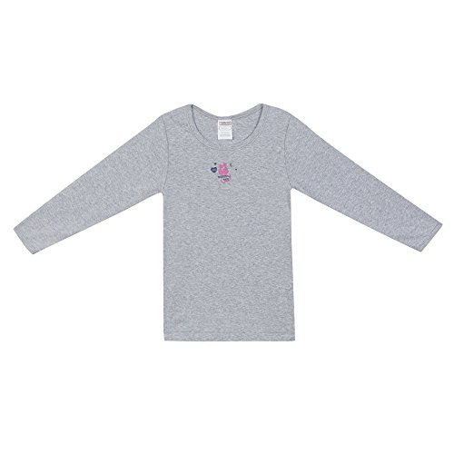 Camisa Absorba Gray Heather Chica Gris ZZYq48vw