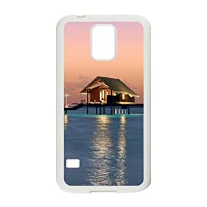 Beautiful Maldives Customized Cover Case with Hard Shell Protection for SamSung Galaxy S5 I9600 Case lxa#469941