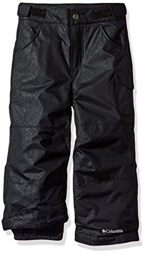 Columbia Kids Snow Pants (Columbia Big Girls' Starchaser Peak II Pant, Black Snowflake Emboss, Large)