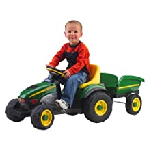 Peg Perego IGCD0522 John Deere Farm Tractor and Trailer
