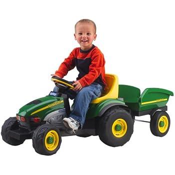 Peg Perego John Deere Farm Tractor & Trailer