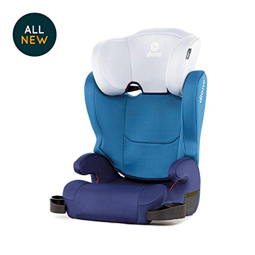 Diono Cambria 2 High-Back Booster Seat, Blue