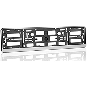 2 x Euro License Number Plate Frame Tag Holder fits Ford