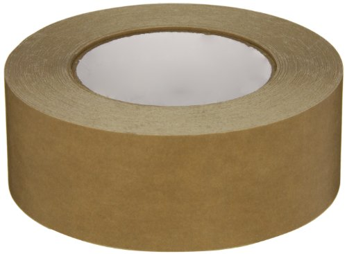 Intertape Polymer Group 530 Synthetic Rubber Utility Grade Flatback Adhesive Tape, 0.18mm Thick x 54.8m Length x 48mm Width, Brown, Case of 24 Rolls from Intertape Polymer Group