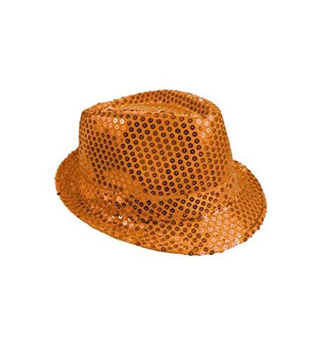 (Mozlly Glamorous Sequin Fedora Hat, 11