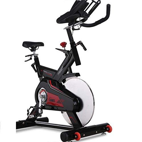 JSYFZ Bicicleta estática de Resistencia magnética, Bicicleta Vertical magnética Plegable, Bicicleta de Aire, máquina de Ejercicio, Bicicleta de Ejercicio Ajustable con Pantalla LCD, Pulso cardí