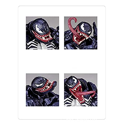 GD-Clothes Venom Action Figures for Kids-7-Inch-Scale Flexible Movable PVC Plastic Figures Venom Model Toys: Toys & Games