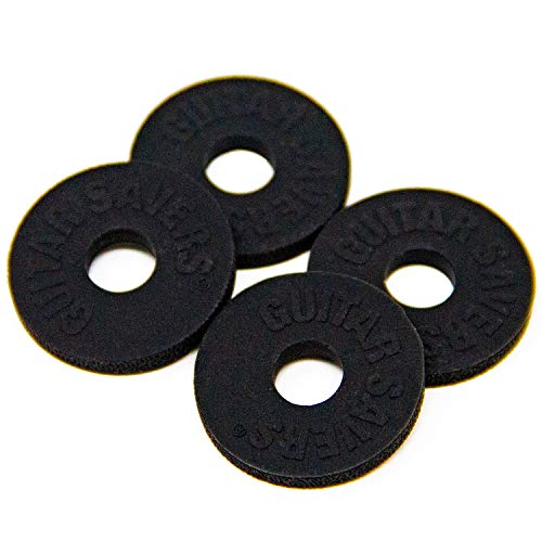 - Guitar Savers Premium Strap Locks (2 Pair) - Black