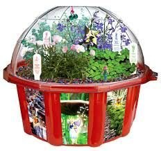 Fairy Triad Dome Terrarium by DuneCraft