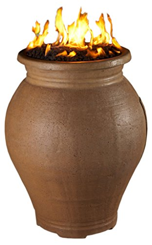 AFD - Amphora Fire Urn - Natural Gas - Sedona (Heavy Texture)