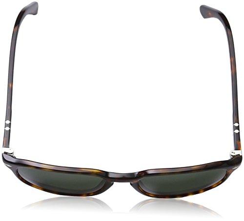Grey Marrón Persol Havana Green Sonnenbrille PO3019S zOx78