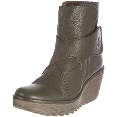 Fly London Womens Yeddo Militar Leather - 36 M EU