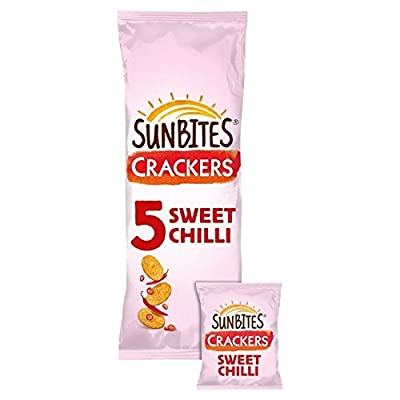 Sunbites Sun Ripened Sweet Chilli Crackers 24g x - 5 per pack (0.26lbs)