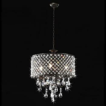 Round Chandelier Light: This item Jojospring Antique 4-light Round Chandelier,Lighting
