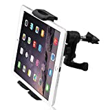 XNYOCN 360˚ Rotating Car Air Vent Mount Holder Stand for for iPad, GPS, Samsung, LG Tablet, 4-10 Inch for T-Mobile Alcatel OneTouch Pop 7 - T-Mobile iPad Air - T-Mobile IPad Air 2 Ipad Mini