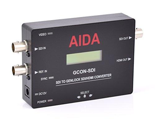 AIDA gcon-sdi 3G/HD-SDI a HDMI convertidor de genlock