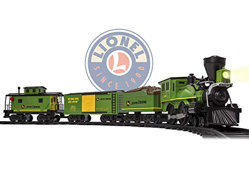 - Lionel John Deere Ready to Play Train Set