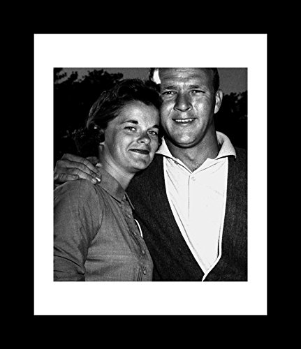 Arnold And Winifred Palmer Smiling - Framed 8