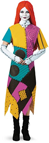 Disguise Women's Disney Nightmare Before Christmas Sally Classic Costume, Yellow/Red/Black/Green, XX-Large - The Nightmare Before Christmas Sally Costumes