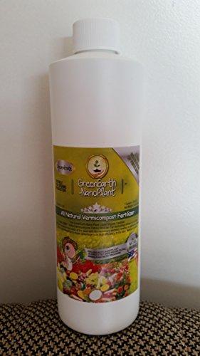 (GreenEarthNanoPlant CONCENTRATE Organic Liquid Fertilizer 16 oz. (Makes 6.5 gals.))