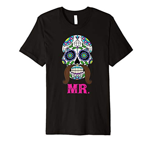 Mr Sugar Skull Shirt Dia De Los Muertos Married Groom Gift