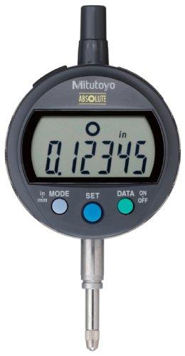 "Mitutoyo 543-391B Absolute LCD Digimatic Indicator Id-C, Standard Type, M2.5X0.45 Thread, 8mm Stem Dia., Flat Back, 0-0.5""/0-12.7mm Range, 0.00005""/0.001mm Graduation, Plus /-0.0001"" Accuracy"