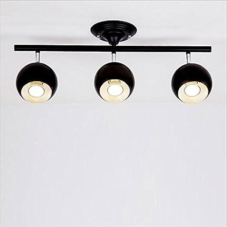 brilife - Lámpara de techo dormitorio rota Ted rieles de ...