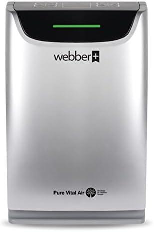 WEBBER Purificador del Aire AP9405 para Superficie 20-40m2, 4 ...