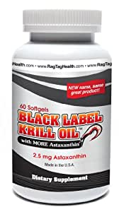 Black Label Krill Oil(tm)