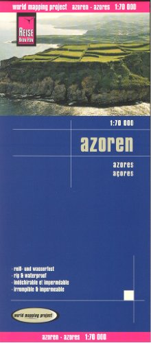 - By Reise Knowhow Azores 1:70,000 Hiking & Cycling Map, waterproof, GPS-compatible, REISE [Map]