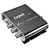 Casavidas Lvpin LP-838 Car Home Mini Hi-Fi Stereo Amplifier Booster Radio MP3 Super Bass 200W 2.1ch 12V