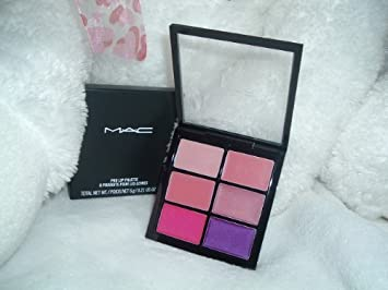 Buy Mac Pro Lip Palette 6 Preferred Pinks Glamour Daze Online At Low Prices In India Amazon In