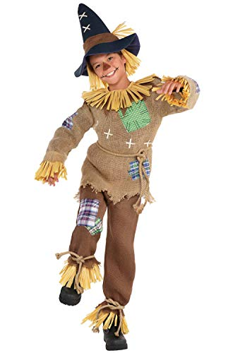 Friendly Halloween Costumes For Kids (Boys Friendly Scarecrow Costume - Small)