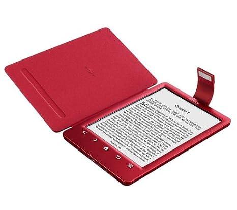 SONY PRSA-CL30 - rojo - Tapa protectora con luz para lector de ...