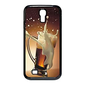 Black Beer Hard Case Cover for Galaxy S4