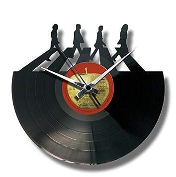Beatles The Disc'o'clock Lp Vinyl 33 Wanduhr Aus Leise gyvYbf76