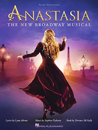 Image for Anastasia Songbook: The New Broadway Musical (PIANO, VOIX, GU)