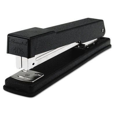 Light-Duty Full Strip Desk Stapler, 20-Sheet Capacity, Black (40 Pack)