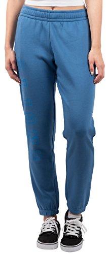 NFL Women's Detroit Lions Jogger Pants Relax Fit Fleece Sweatpants, Medium, Blue (Lions Nfl Detroit Cotton)