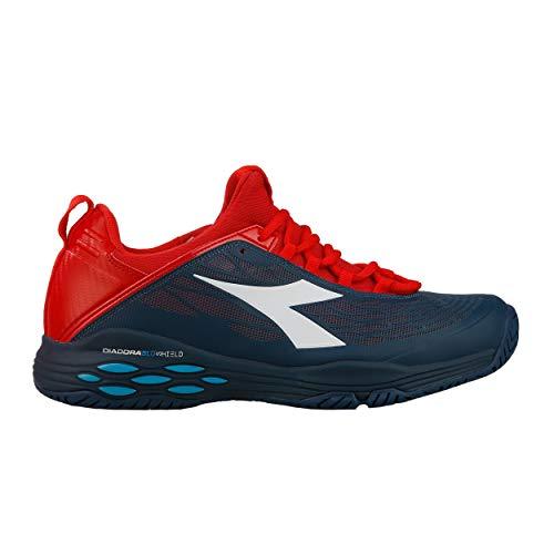 Speed Fly Ag Tout De 45 5 Tennis Bleu Blushield Foncé Chaussure Terrain Chaussures Hommes Diadora Rouge 5TFntqwUTg